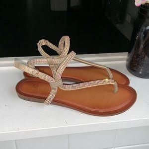 Shoes - Sparkly sandals ✨